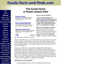 The Fossil Hunt Lesson Plan