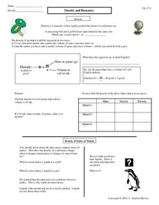 Worksheets Buoyancy Worksheet density and buoyancy worksheet samsungblueearth