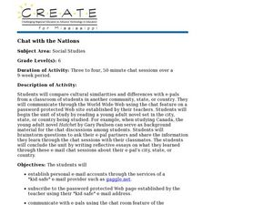 Chat with the Nations Lesson Plan