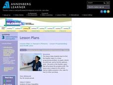 Hassan's Pictures - Linear Programming and Profit Lines Lesson Plan