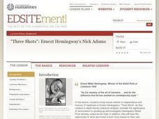 """Three Shots"": Ernest Hemingway's Nick Adams Lesson Plan"