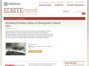 Picturing Freedom: Selma-to-Montgomery March, 1965 Lesson Plan