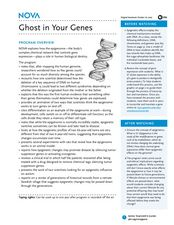 Ghost in Your Genes Lesson Plan