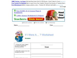 If I Were A ....? Worksheet