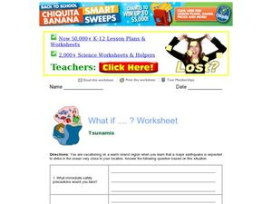 What If ...? Worksheet Worksheet
