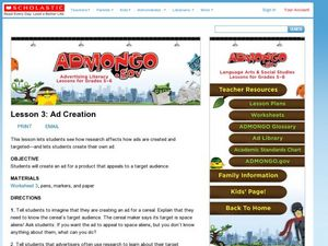 Ad Creation Lesson Plan