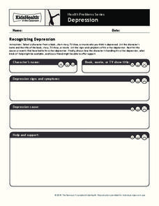 Depression Worksheet