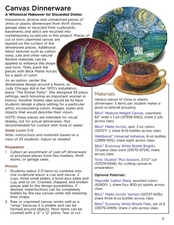 Canvas Dinnerware Lesson Plan