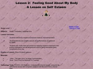 Feeling Good About My Body: A Lesson on Self Esteem Lesson Plan