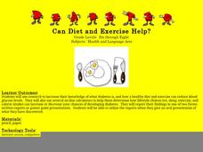 Can Diet and Exercise Help? Lesson Plan