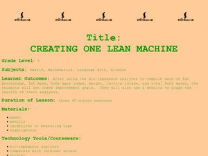 Creating One Lean Machine Lesson Plan