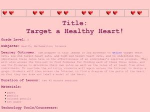 Target a Healthy Heart Lesson Plan