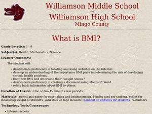 What is BMI? Lesson Plan