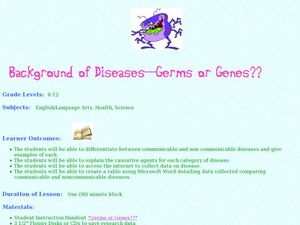 Background of Diseases-- Germs or Genes? Lesson Plan