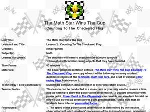The Math Star Wins the Cup Lesson Plan