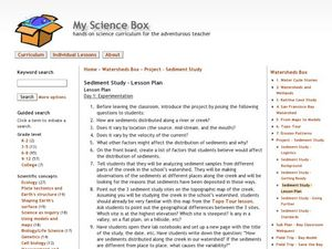 Sediment Study Lesson Plan