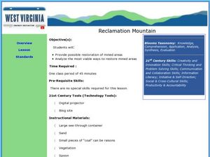 Reclamation Mountain Lesson Plan