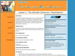 The Ultimate Classroom:  Presentations Lesson Plan