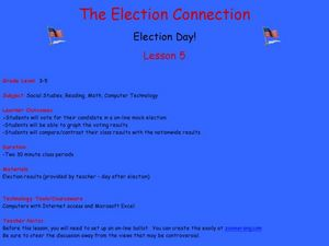 The Election Connection Lesson Plan