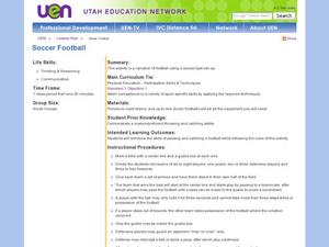 Soccer Football Lesson Plan