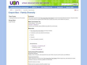 Crayon Box-Family Diversity Lesson Plan