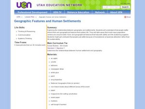 Geographic Features and Human Settlements Lesson Plan
