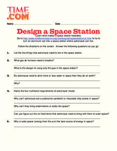 Design A Space Station Lesson Plan