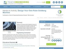 Design Your Own Rube Goldberg Machine Lesson Plan