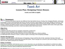 Designing Future Houses Lesson Plan