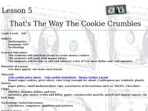 That's The Way the Cookie Crumbles Lesson Plan