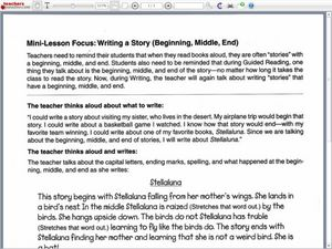 Writing a Story (Beginning, Middle, End) Lesson Plan