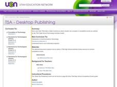 Desktop Publishing Lesson Plan
