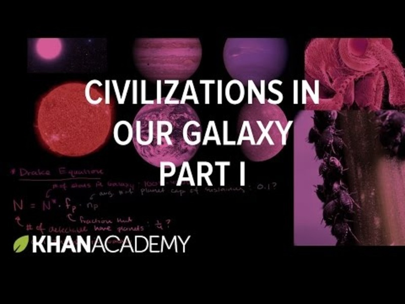 Detectable Civilizations in our Galaxy 1 Video