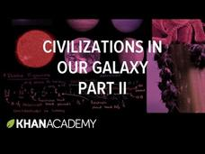 Detectable Civilizations in our Galaxy 2 Video