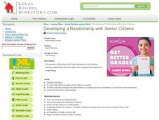 Developing a Relationship with Senior Citizens Lesson Plan