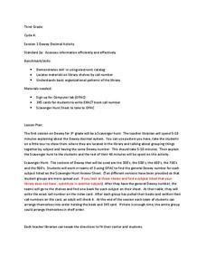 Dewey Decimal System Worksheets