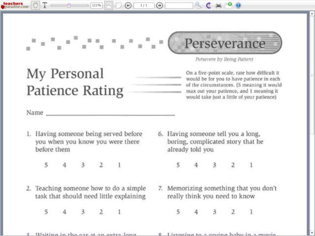 All Worksheets » Patience Worksheets For Kids - Printable ...