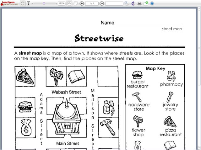 All Worksheets Map Worksheets For Third Grade Printable – Map Key Worksheet