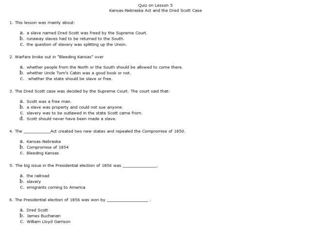 homework confessing original zippy sample resume training – Dred Scott Worksheet