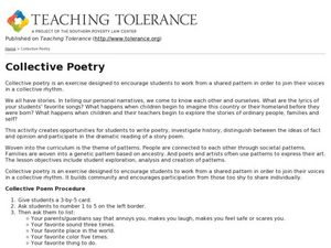 Tolerance Lesson Plans & Worksheets Reviewed by Teachers