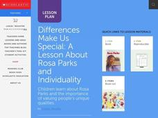 Differences Make Us Special Lesson Plan