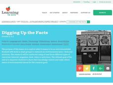 Digging Up The Facts Lesson Plan