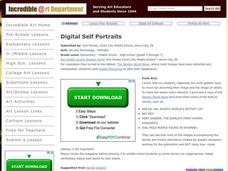 Digital Self Portraits Lesson Plan