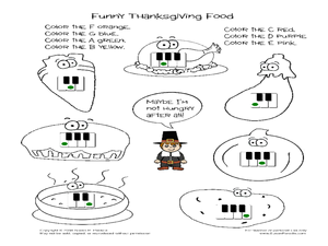 Thanksgiving Music Lesson Plans & Worksheets Reviewed by