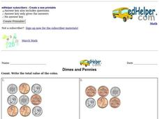 Dimes and Pennies Interactive