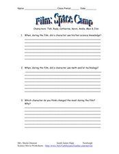 Rudy Movie Worksheet - Checks Worksheet