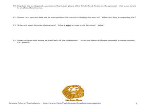 lion king ecology lesson plans worksheets reviewed by teachers. Black Bedroom Furniture Sets. Home Design Ideas