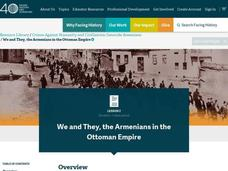 We and They, the Armenians in the Ottoman Empire Lesson Plan