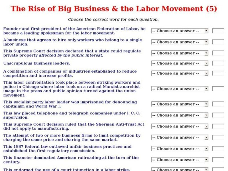Big Business Lesson Plans Worksheets Reviewed By Teachers