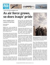 As Air Force Grows, So Does Iraqis' Pride Lesson Plan